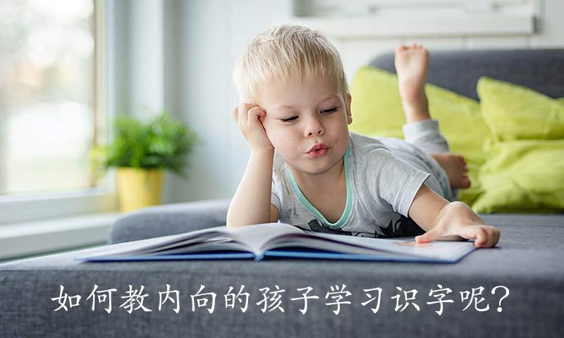 如何教内向的孩子学习识字呢?