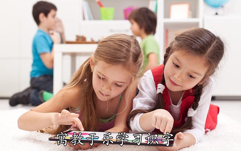 寓教于乐学习识字
