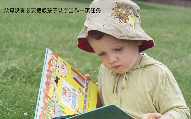 识字在质不在量,7个方法教孩子自然的学会认字!