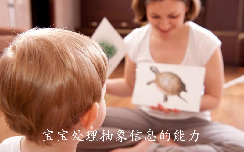宝宝处理抽象信息的能力
