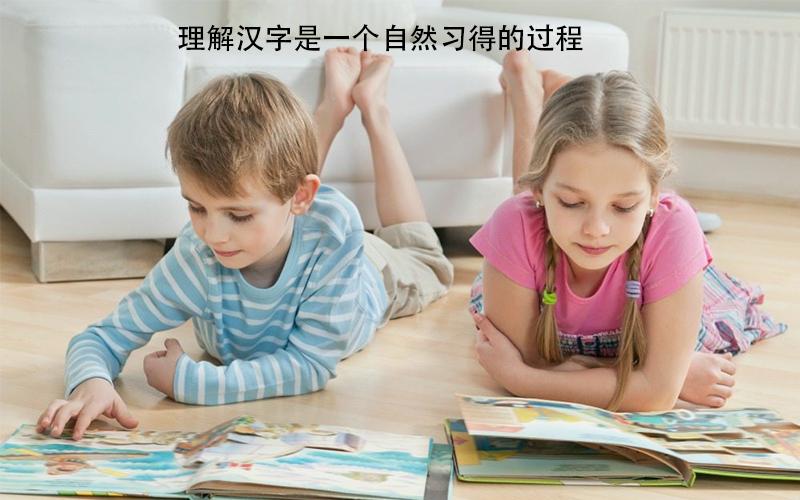 幼儿识字是一个自然习得的过程,家长没有必要刻意去教!