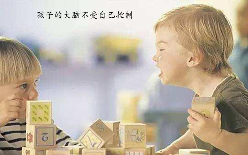 孩子的大脑不受自己控制