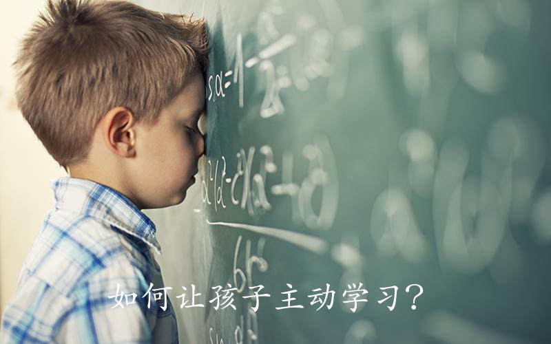 如何让孩子主动学习?这5个方法家长应该看