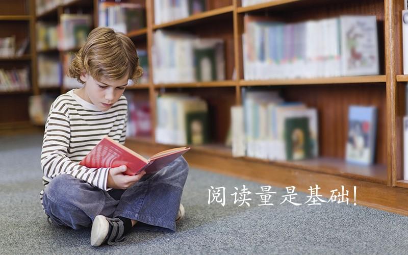 阅读量是基础