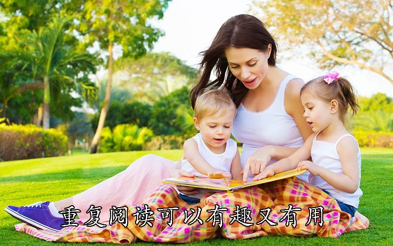 宝宝喜欢重复阅读同一本书,这样做有趣又有用!