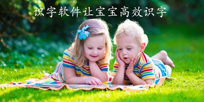 识字软件让宝宝高效识字