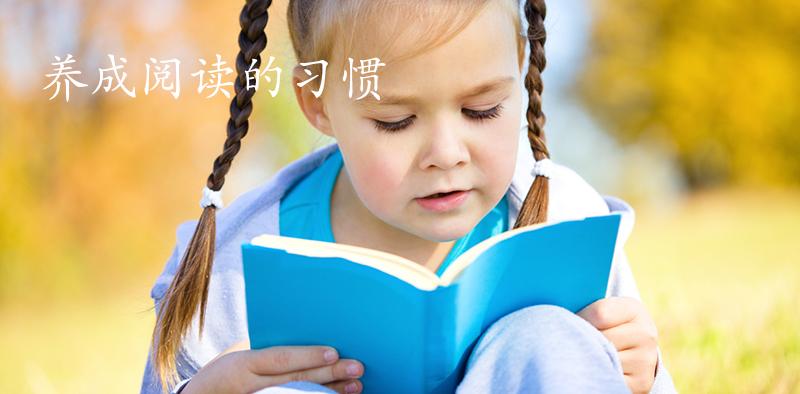 养成阅读的习惯