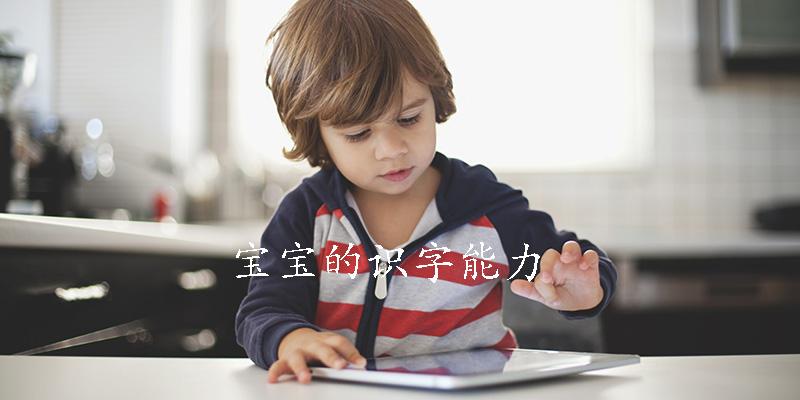 宝宝的识字能力