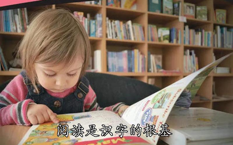 阅读是识字的根基