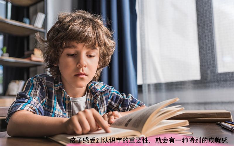 """要让孩子学会汉字,首先要培养孩子对""""字""""的兴趣!"""