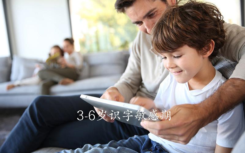 3-6岁识字敏感期